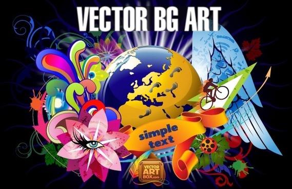 Vector Background Art