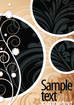 vector background with stylish elements art