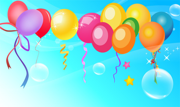 vector balloons