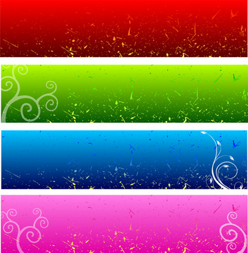 vector banners background