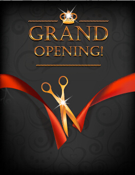 Grand Opening Invitation Free Vector Download 87259