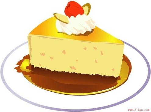 vector birthday cake vector