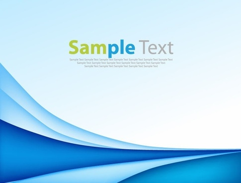 Vector Blue Abstract Background