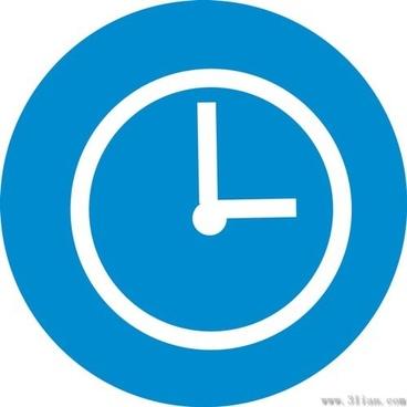Clock icon vector free vector download (27,343 Free vector