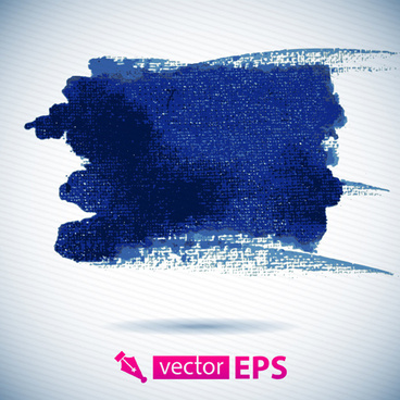 vector blue watercolor stains background