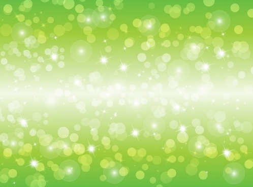 Vector Blur Green Background