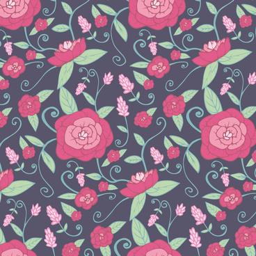 vector botanical floral design