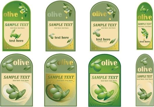 vector bottle of olive oil paste