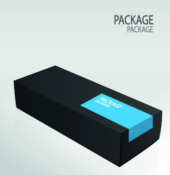 vector box package design elements