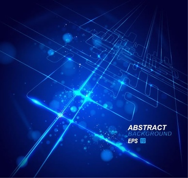 technology background 3d surface dark blue sparkling