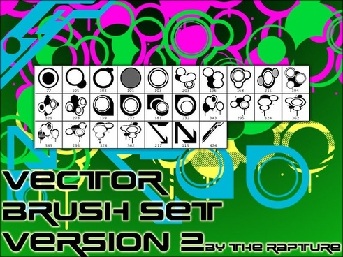 Vector Brush Set V2
