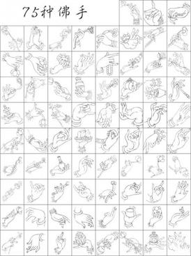 vector buddhist 75 models bergamot ai format