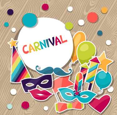 vector carnival holiday background design