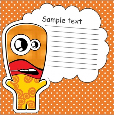 vector cartoon box cartoon stickers