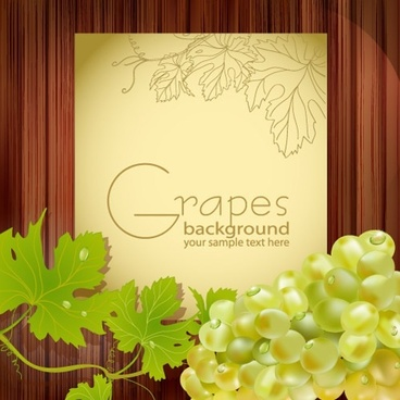 grape advertising background shiny modern handdrawn decor