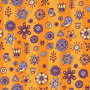 vector cartoon pattern background shading