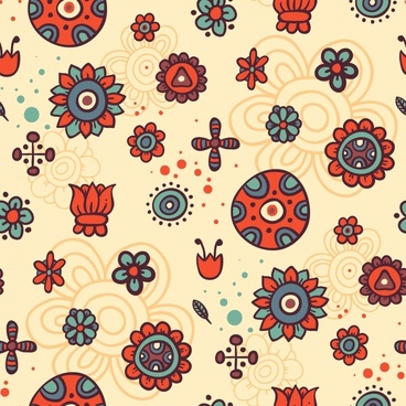 vector cartoon pattern background shading