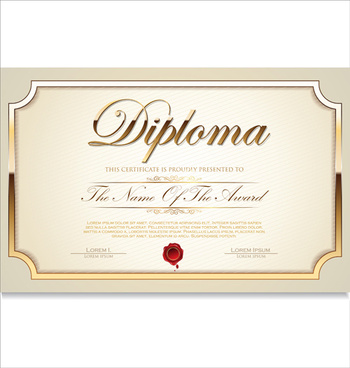 Certificate Template Adobe Illustrator Free Vector Download 222437