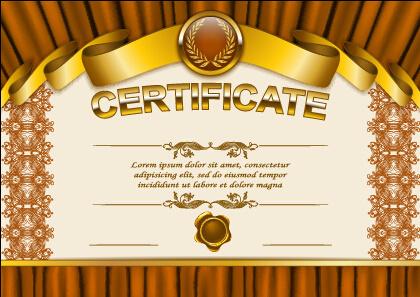 Certificate Format | Diploma Certificate Template Free Vector Download 14 628 Free