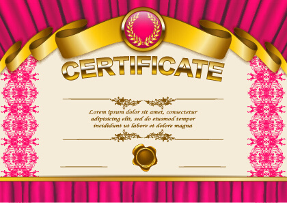 Background certificate free vector download (49,484 Free ...