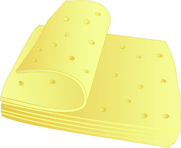 vector cheese design elements