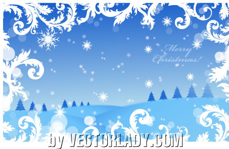 vector christmas wallpaper