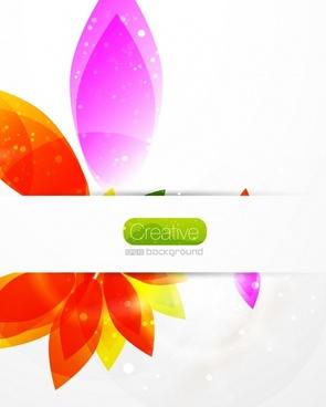 botany background modern sparkling closeup design