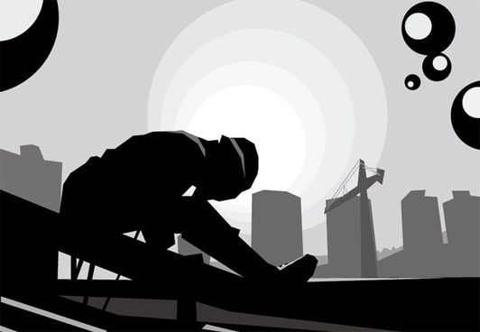 vector construction sites