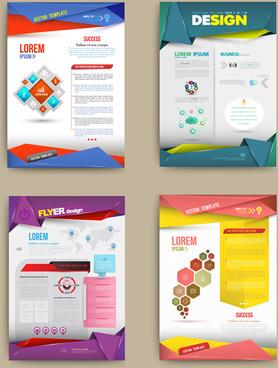 vector cover brochure modern design