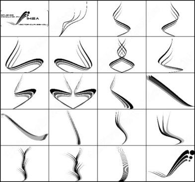 vector curves brush