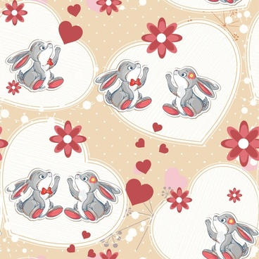 vector cute cartoon bunny