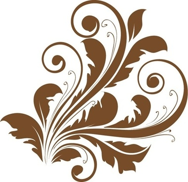 Vector Decorative Floral Design