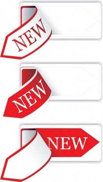 sale tag templates 3d sticker design