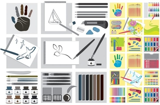 vector drawing tools series