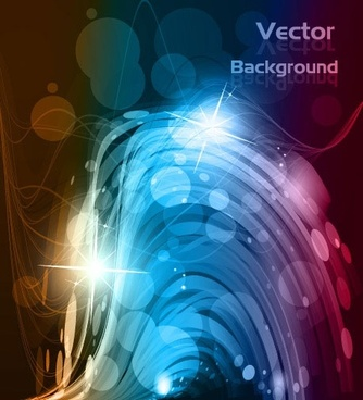 vector dynamic background 3 glare