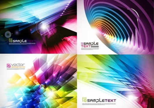 decorative background modern brilliant colorful dynamic 3d design