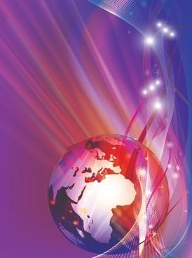 global background modern sparkling dynamic 3d design