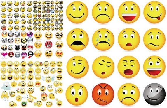 vector emoticons collection