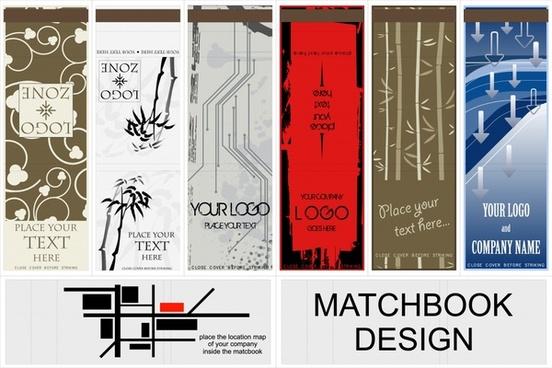 vector exquisite bookmarks