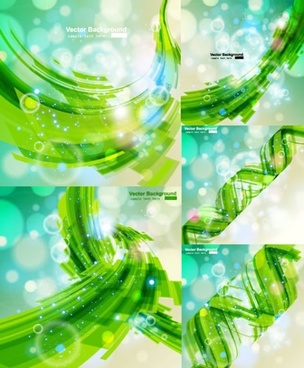 dynamic background templates modern green bokeh lights decor