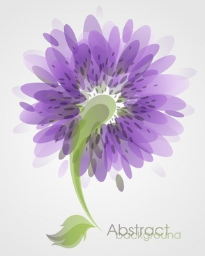 flower background blurred violet green decor