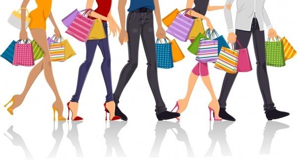 vector fashion shopping shopping