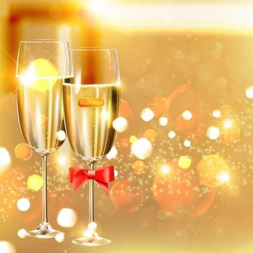 vector festive celebration of 1