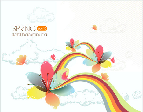Floral Background Vector Free Vector Download 52 411 Free Vector