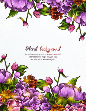 vector floral backgrounds art