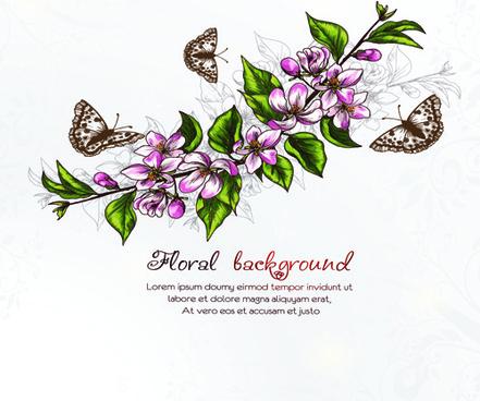 vector floral backgrounds art