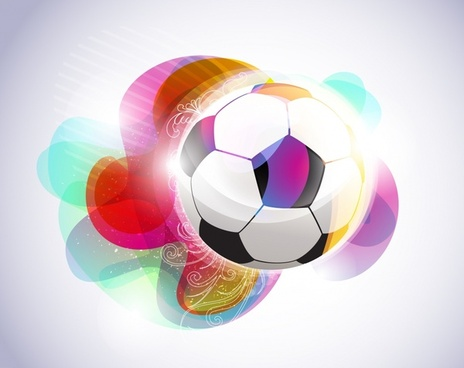 soccer background shiny colorful sparkling decor