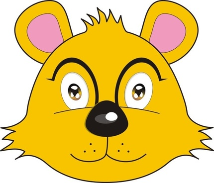 vector fox bear avatar