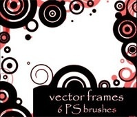 vector frames brushes