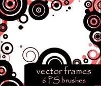 vector frames brushes